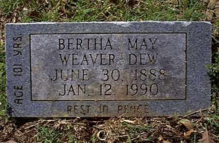 DEW, BERTHA MAY - Independence County, Arkansas | BERTHA MAY DEW - Arkansas Gravestone Photos
