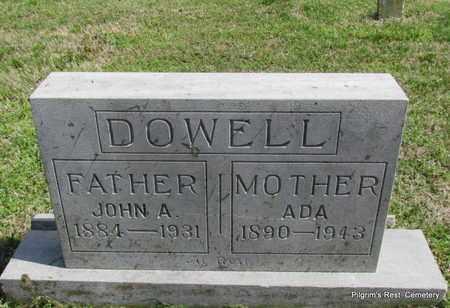 DOWELL, ADA - Independence County, Arkansas | ADA DOWELL - Arkansas Gravestone Photos