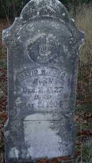 FORD, DAVID ROWLAND - Independence County, Arkansas | DAVID ROWLAND FORD - Arkansas Gravestone Photos
