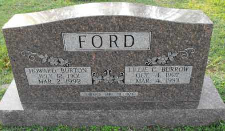 FORD, HOWARD  BURTON - Independence County, Arkansas   HOWARD  BURTON FORD - Arkansas Gravestone Photos