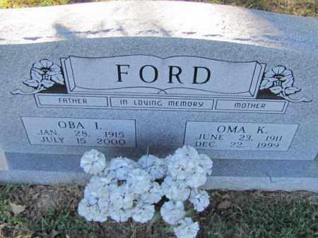 FORD, OMA K. - Independence County, Arkansas | OMA K. FORD - Arkansas Gravestone Photos