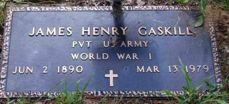 GASKILL  (VETERAN WWI), JAMES HENRY - Independence County, Arkansas | JAMES HENRY GASKILL  (VETERAN WWI) - Arkansas Gravestone Photos
