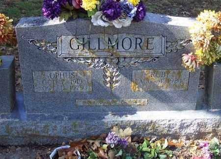 GILLMORE, OPHUS - Independence County, Arkansas   OPHUS GILLMORE - Arkansas Gravestone Photos