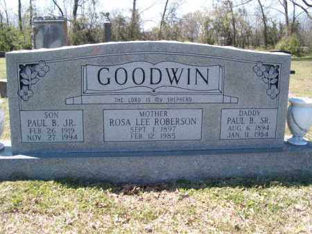 GOODWIN, SR., PAUL B - Independence County, Arkansas | PAUL B GOODWIN, SR. - Arkansas Gravestone Photos