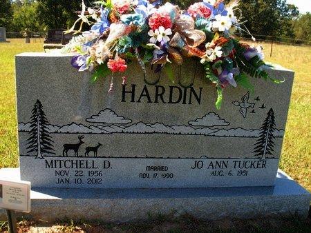 TUCKER HARDIN, JO ANN - Independence County, Arkansas | JO ANN TUCKER HARDIN - Arkansas Gravestone Photos