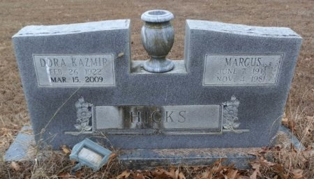 HICKS, DORA KAZMIR (OBIT) - Independence County, Arkansas | DORA KAZMIR (OBIT) HICKS - Arkansas Gravestone Photos