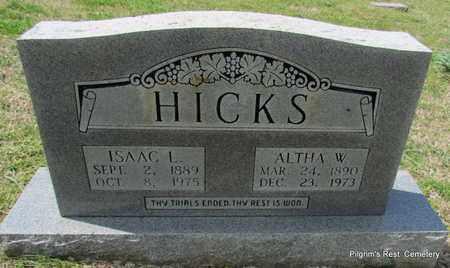 HICKS, ISAAC L - Independence County, Arkansas | ISAAC L HICKS - Arkansas Gravestone Photos