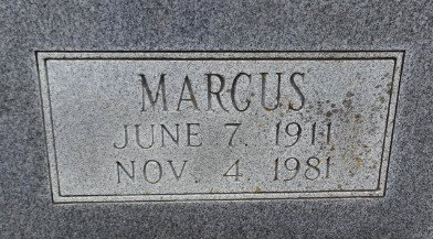 HICKS, MARCUS (CLOSE UP) - Independence County, Arkansas | MARCUS (CLOSE UP) HICKS - Arkansas Gravestone Photos