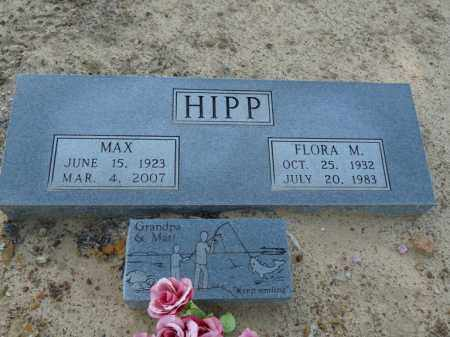 HIPP, MAX - Independence County, Arkansas | MAX HIPP - Arkansas Gravestone Photos