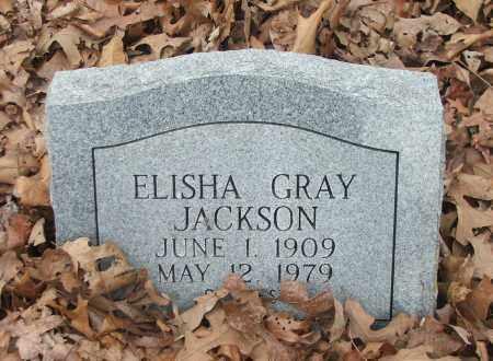 JACKSON, ELISHA GRAY - Independence County, Arkansas | ELISHA GRAY JACKSON - Arkansas Gravestone Photos