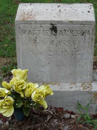 JACKSON, MATTIE - Independence County, Arkansas   MATTIE JACKSON - Arkansas Gravestone Photos