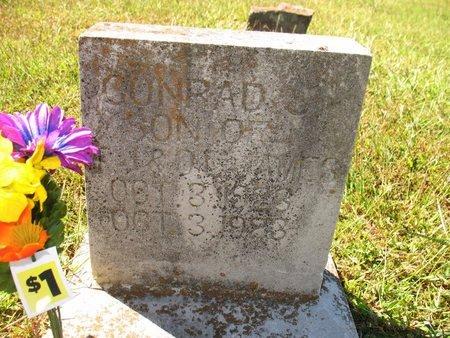 JAMES, CONRAD - Independence County, Arkansas | CONRAD JAMES - Arkansas Gravestone Photos