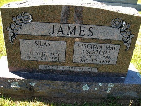 JAMES, VIRGINIA MAE - Independence County, Arkansas | VIRGINIA MAE JAMES - Arkansas Gravestone Photos