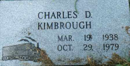 KIMBROUGH, CHARLES D - Independence County, Arkansas | CHARLES D KIMBROUGH - Arkansas Gravestone Photos