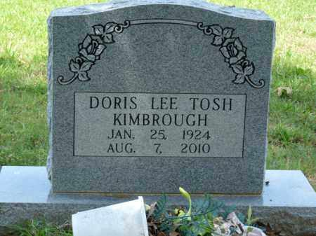 TOSH KIMBROUGH, DORIS LEE - Independence County, Arkansas | DORIS LEE TOSH KIMBROUGH - Arkansas Gravestone Photos