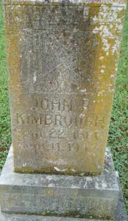 KIMBROUGH, JOHN R - Independence County, Arkansas | JOHN R KIMBROUGH - Arkansas Gravestone Photos