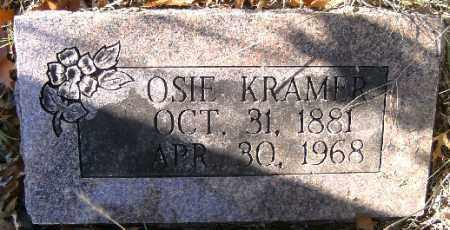 COOK KRAMER, OSIE - Independence County, Arkansas | OSIE COOK KRAMER - Arkansas Gravestone Photos