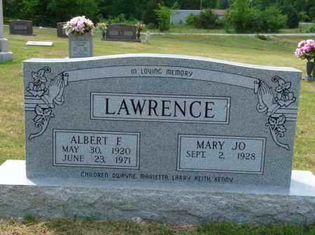LAWRENCE, ALBERT E. - Independence County, Arkansas | ALBERT E. LAWRENCE - Arkansas Gravestone Photos