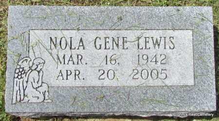 LEWIS, NOLA GENE - Independence County, Arkansas   NOLA GENE LEWIS - Arkansas Gravestone Photos