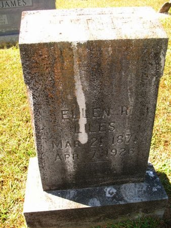 LILES, ELLEN R - Independence County, Arkansas   ELLEN R LILES - Arkansas Gravestone Photos