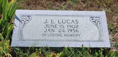 LUCAS, J. E. - Independence County, Arkansas | J. E. LUCAS - Arkansas Gravestone Photos