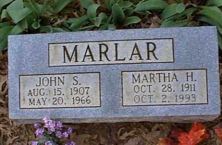 MARLAR, JOHN S. - Independence County, Arkansas   JOHN S. MARLAR - Arkansas Gravestone Photos