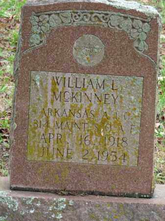 MCKINNEY, WILLIAM L. - Independence County, Arkansas | WILLIAM L. MCKINNEY - Arkansas Gravestone Photos