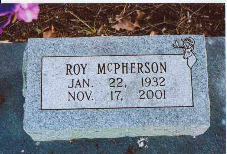 MCPHERSON  (VETERAN KOR), WILLIAM L. ROY - Independence County, Arkansas | WILLIAM L. ROY MCPHERSON  (VETERAN KOR) - Arkansas Gravestone Photos