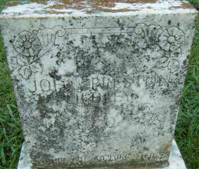 MEDLEY, JOHN PRESTON - Independence County, Arkansas | JOHN PRESTON MEDLEY - Arkansas Gravestone Photos