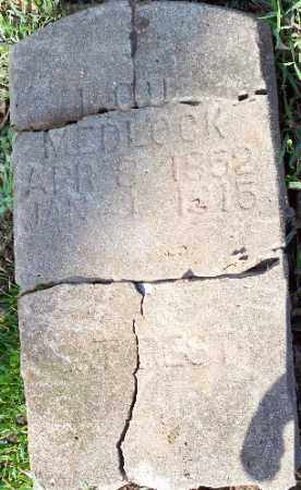 MEDLOOK, LOU - Independence County, Arkansas | LOU MEDLOOK - Arkansas Gravestone Photos