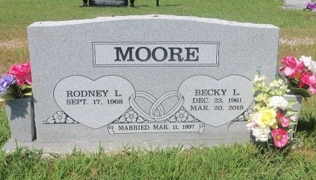 MOORE, BECKY L - Independence County, Arkansas | BECKY L MOORE - Arkansas Gravestone Photos