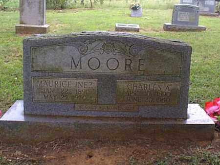 MOORE, MAURICE INEZ - Independence County, Arkansas | MAURICE INEZ MOORE - Arkansas Gravestone Photos