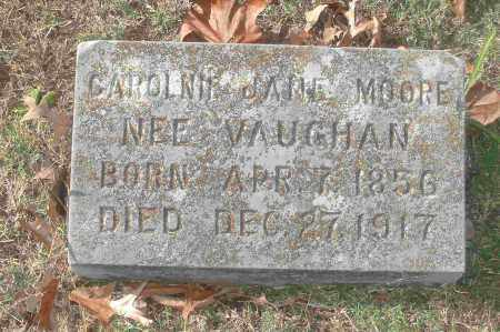MOORE, CAROLNIE JANE - Independence County, Arkansas | CAROLNIE JANE MOORE - Arkansas Gravestone Photos