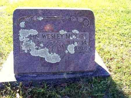 MOORE, JOHN WESLEY - Independence County, Arkansas   JOHN WESLEY MOORE - Arkansas Gravestone Photos