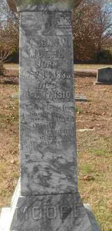 MOORE, MORGAN M - Independence County, Arkansas   MORGAN M MOORE - Arkansas Gravestone Photos