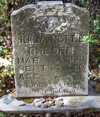 OSBORN, JULIA NETTIE - Independence County, Arkansas | JULIA NETTIE OSBORN - Arkansas Gravestone Photos
