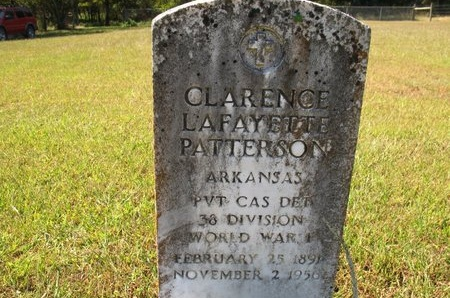 PATTERSON, CLARENCE LAFAYETTE - Independence County, Arkansas | CLARENCE LAFAYETTE PATTERSON - Arkansas Gravestone Photos