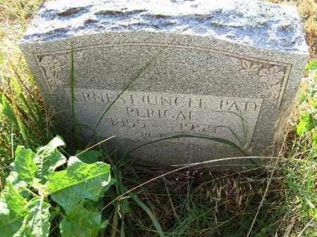 PERIGAL, ERNEST - Independence County, Arkansas   ERNEST PERIGAL - Arkansas Gravestone Photos