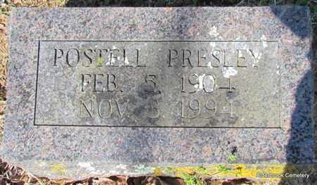 PRESLEY, POSTELL - Independence County, Arkansas   POSTELL PRESLEY - Arkansas Gravestone Photos