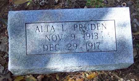 PRUDEN, ALTA L. - Independence County, Arkansas | ALTA L. PRUDEN - Arkansas Gravestone Photos