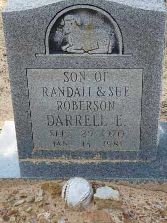 ROBERSON, DARRELL E. - Independence County, Arkansas | DARRELL E. ROBERSON - Arkansas Gravestone Photos