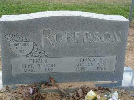 ROBERSON, LONA E. - Independence County, Arkansas | LONA E. ROBERSON - Arkansas Gravestone Photos