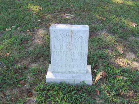 RUTHERFORD, LUCILLE - Independence County, Arkansas | LUCILLE RUTHERFORD - Arkansas Gravestone Photos