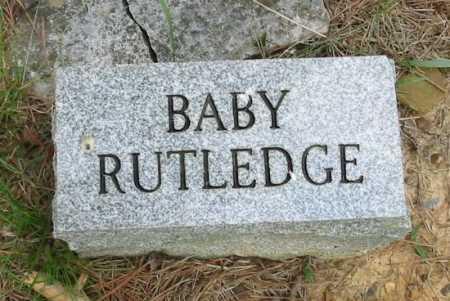 RUTLEDGE, BABY - Independence County, Arkansas   BABY RUTLEDGE - Arkansas Gravestone Photos