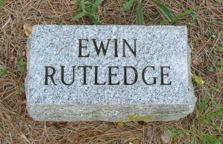 RUTLEDGE, EWIN - Independence County, Arkansas | EWIN RUTLEDGE - Arkansas Gravestone Photos