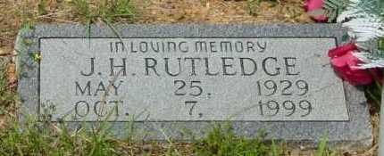 RUTLEDGE, J H - Independence County, Arkansas | J H RUTLEDGE - Arkansas Gravestone Photos