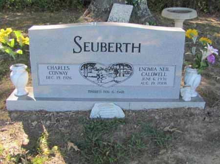 SEUBERTH, ENOMIA NEIL - Independence County, Arkansas | ENOMIA NEIL SEUBERTH - Arkansas Gravestone Photos