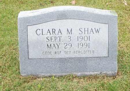 SHAW, CLARA M - Independence County, Arkansas   CLARA M SHAW - Arkansas Gravestone Photos