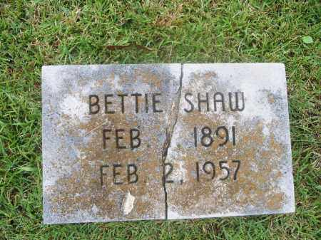 SHAW, ELIZABETH BETTIE - Independence County, Arkansas   ELIZABETH BETTIE SHAW - Arkansas Gravestone Photos
