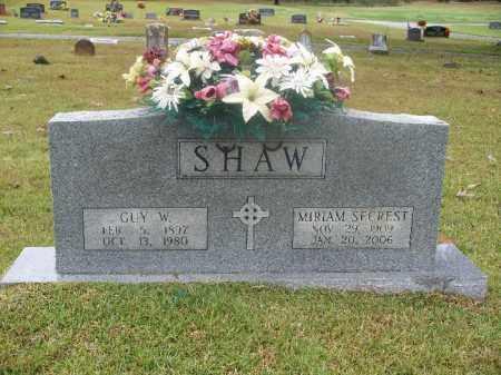 SHAW, GUY W - Independence County, Arkansas | GUY W SHAW - Arkansas Gravestone Photos